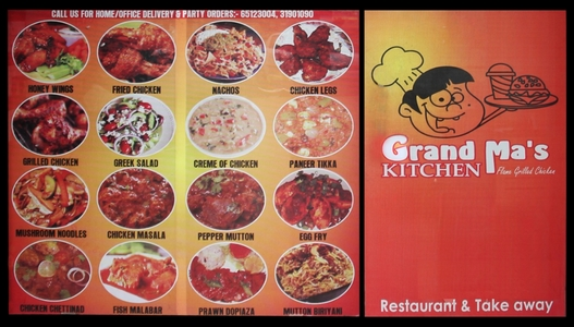 Grand Ma's Kitchen, Prahlad Nagar