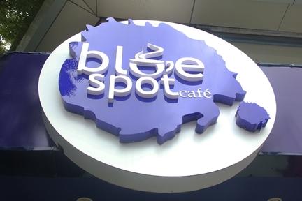 Blue Spot Café, Gulbai Tekra