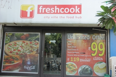 Freshcook City Ville The Food Hub, Naranpura