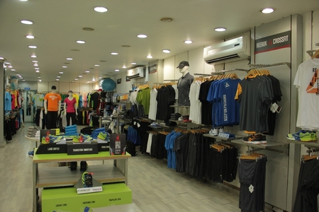 Reebok Shoppe, C G Road