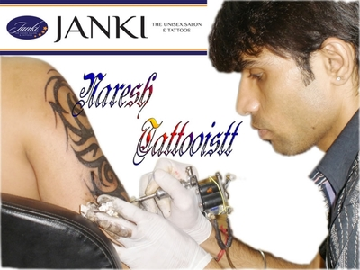 Janki - The Unisex Salon & Tattoos, Ambavadi