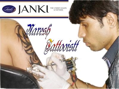 Janki - The Unisex Salon & Tattoos, Ambavadi