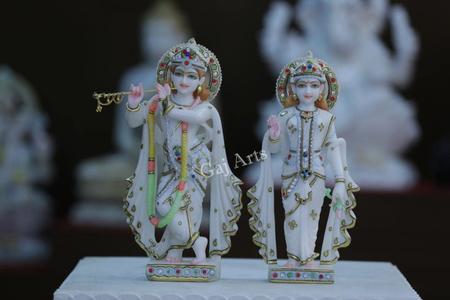 Marble god idol in Ahmedabad