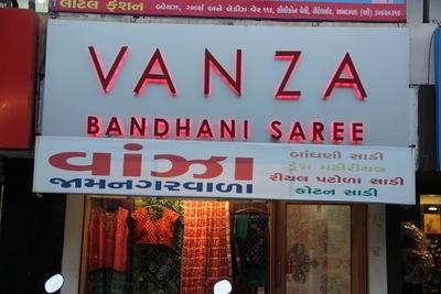 Vanza Bandhani Saree, Satellite