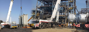 Hydraulic Crane Rental Services Gujarat