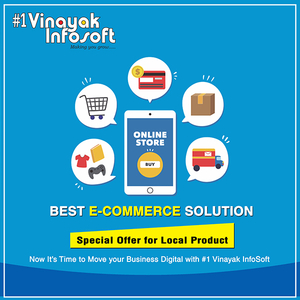Vinayak Infosoft Best e-Commerce Solution Ecommerce Website, 331