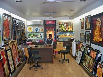 Manish Framing Mart, Satellite
