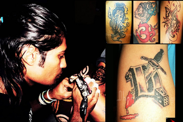 Black Stain Tattoo Studio, Chandkheda