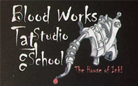 Blood Works Tattoo Studio School, Thaltej