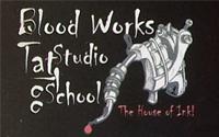 Blood Works Tattoo Studio School, Shahibagh, Ahmedabad